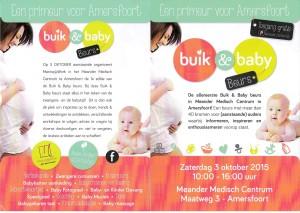 Buik & Baby beurs flyer